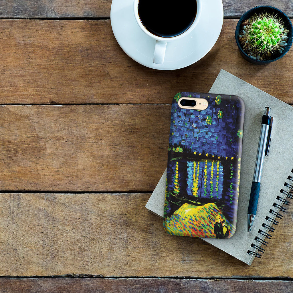iPhone 7 Plus Adventure Case - Starry Night Over the Rhone by Vincent Van Gogh