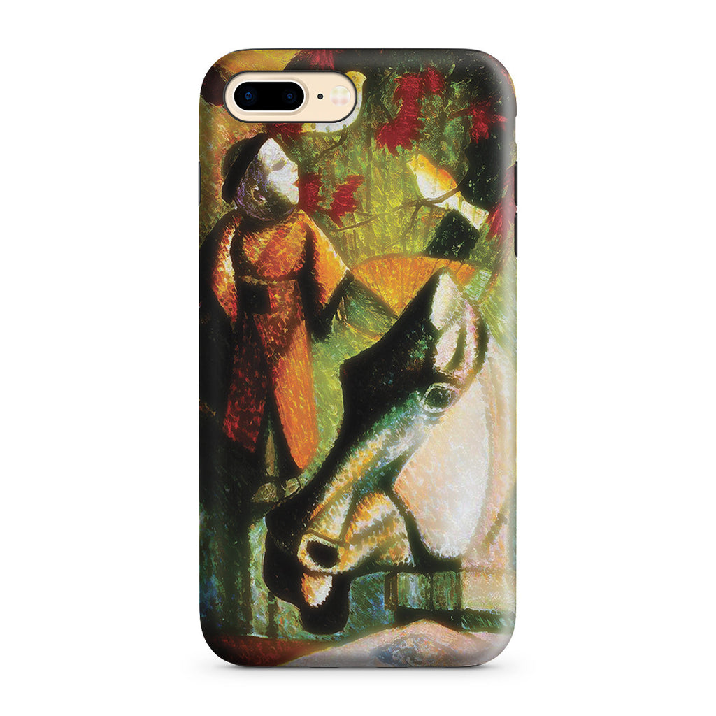 iPhone 7 Plus Adventure Case - Still Life with Horse's Head, 1886 by Paul Gauguin