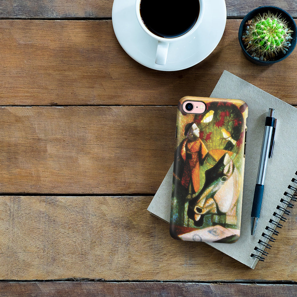 iPhone 7 Adventure Case - Still Life with Horse's Head, 1886 by Paul Gauguin
