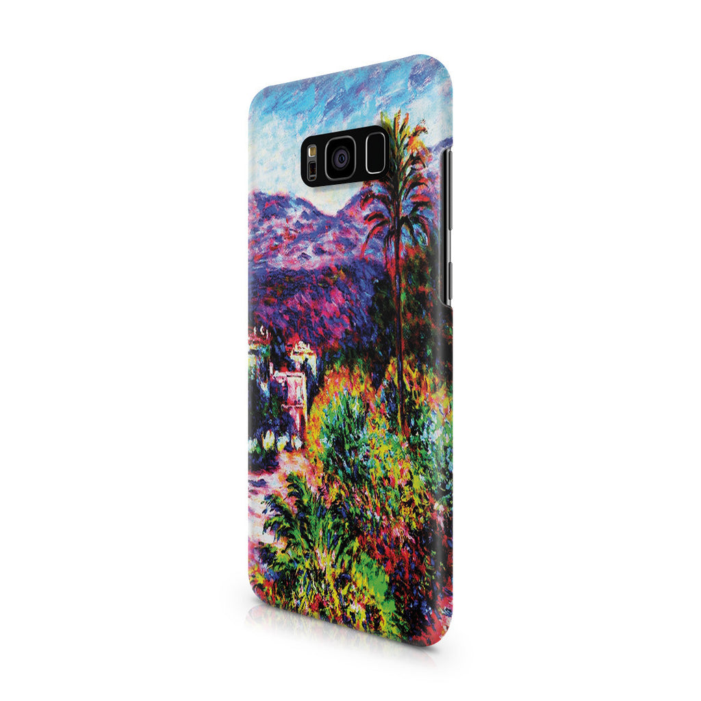 Galaxy S8 Plus Case - Strada Romada in Bordighera by Claude Monet