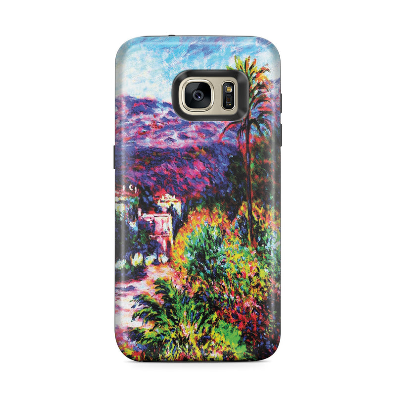 Galaxy S7 Edge Adventure Case - Strada Romada in Bordighera by Claude Monet