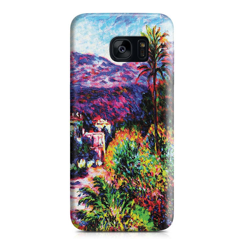 Galaxy S7 Edge Case - Strada Romada in Bordighera by Claude Monet