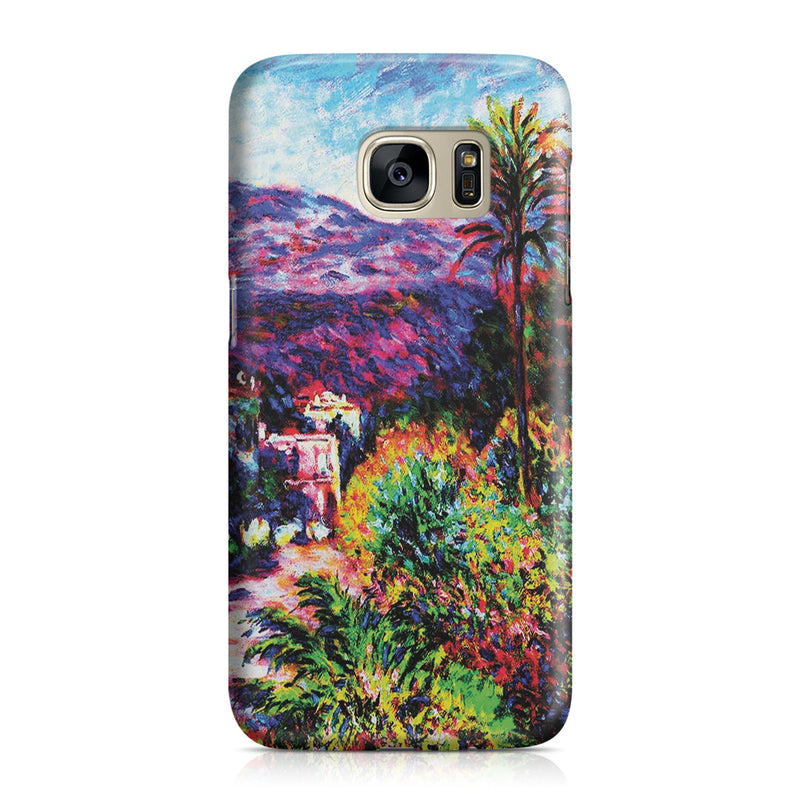 Galaxy S7 Case - Strada Romada in Bordighera by Claude Monet