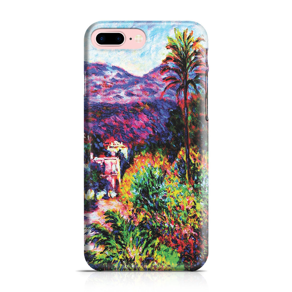 iPhone 7 Plus Case - Strada Romada in Bordighera by Claude Monet