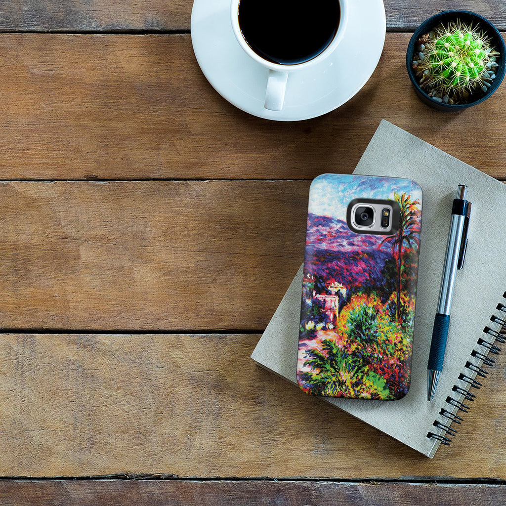 Galaxy S7 Adventure Case - Strada Romada in Bordighera by Claude Monet