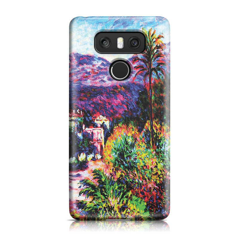 LG G6 Case - Strada Romada in Bordighera by Claude Monet