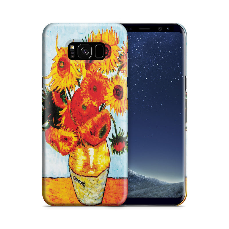 Galaxy S8 Plus Case - Sunflowers by Vincent Van Gogh