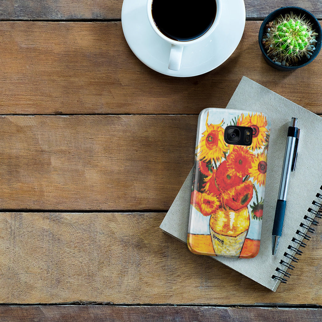 Galaxy S7 Case - Sunflowers by Vincent Van Gogh