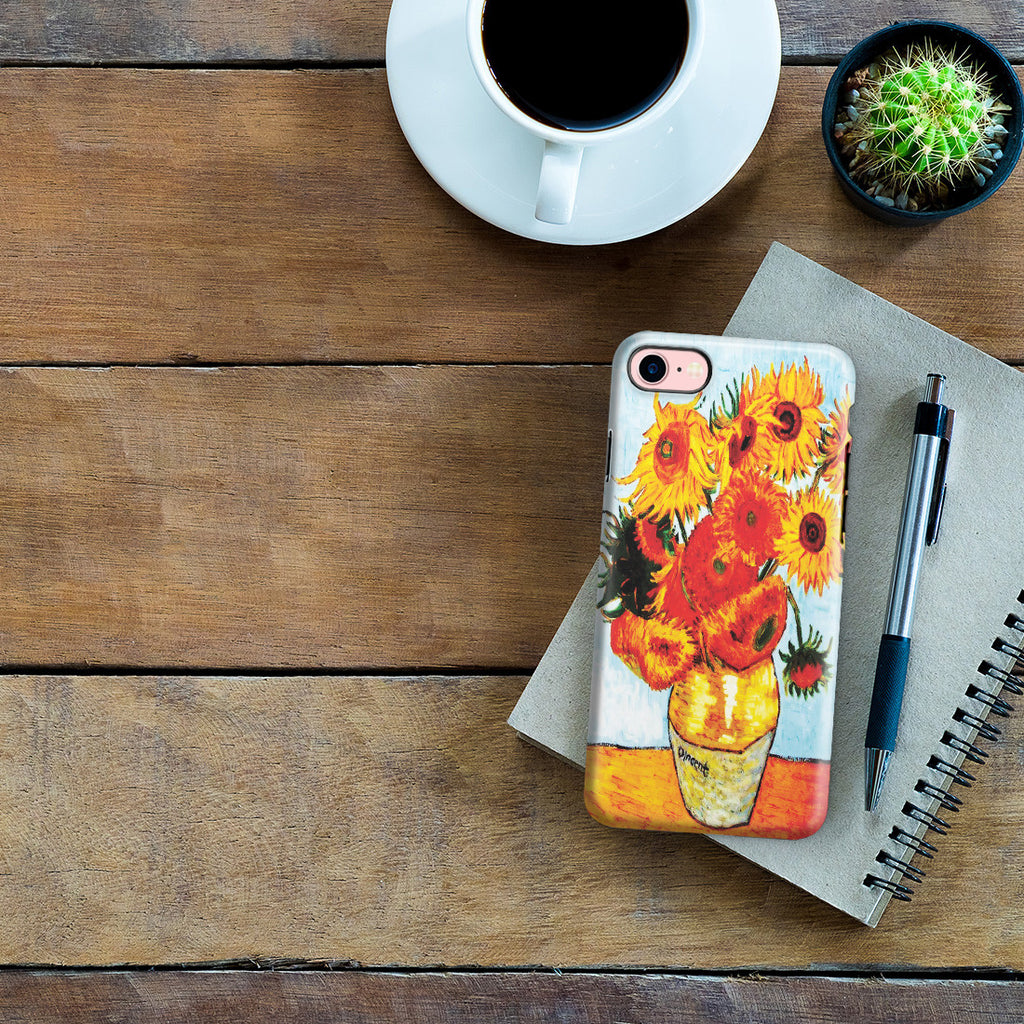 iPhone 7 Adventure Case - Sunflowers by Vincent Van Gogh