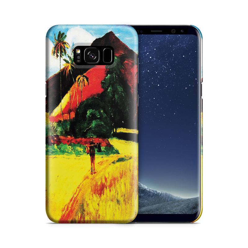 Galaxy S8 Plus Case - Tahitian Mountains, 1893 by Paul Gauguin