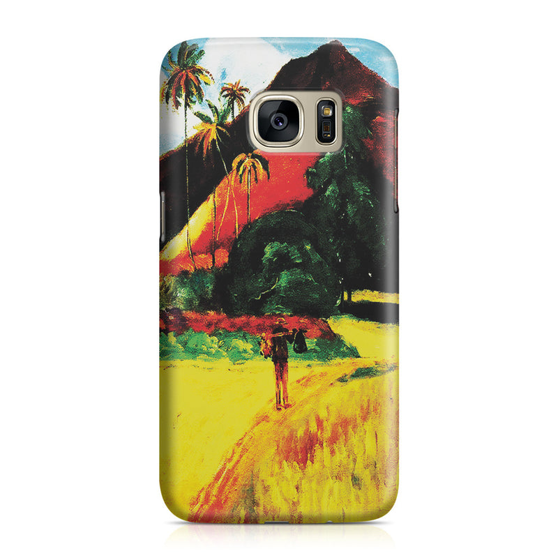 Galaxy S7 Case - Tahitian Mountains, 1893 by Paul Gauguin