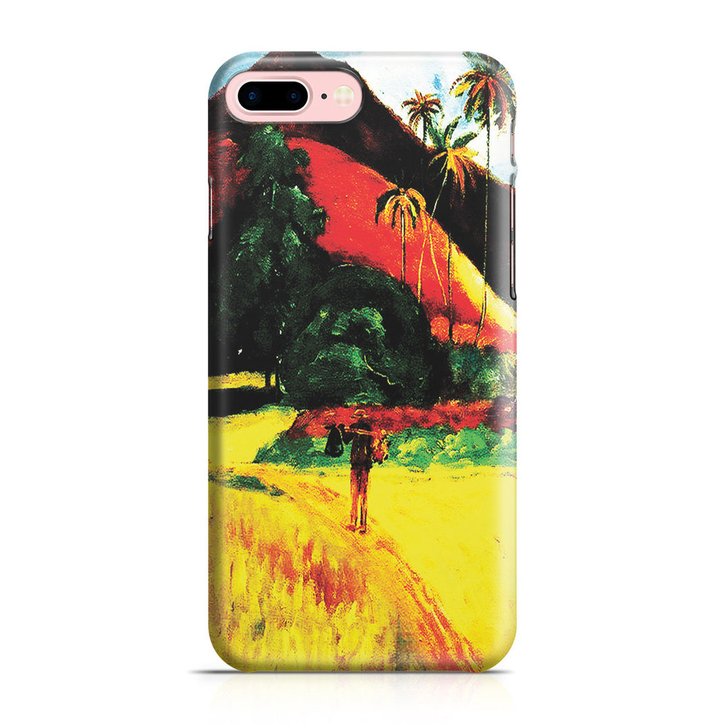 iPhone 7 Plus Case - Tahitian Mountains, 1893 by Paul Gauguin