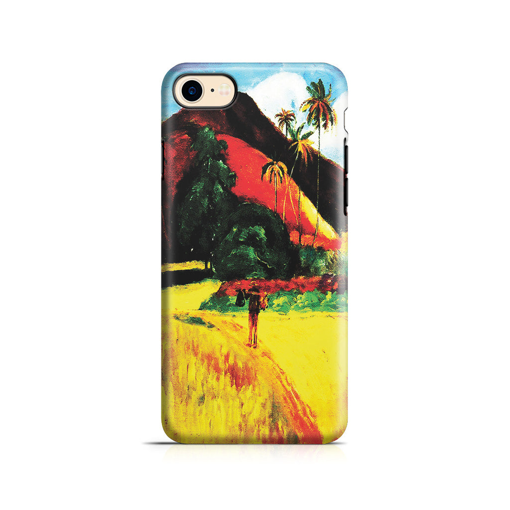 iPhone 7 Adventure Case - Tahitian Mountains, 1893 by Paul Gauguin