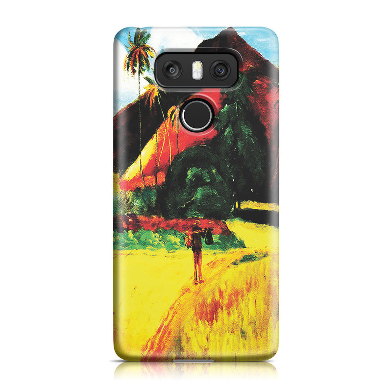 LG G6 Case - Tahitian Mountains, 1893 by Paul Gauguin