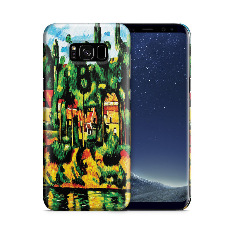 Galaxy S8 Plus Case - The Chateau at Medan by Paul Cezanne