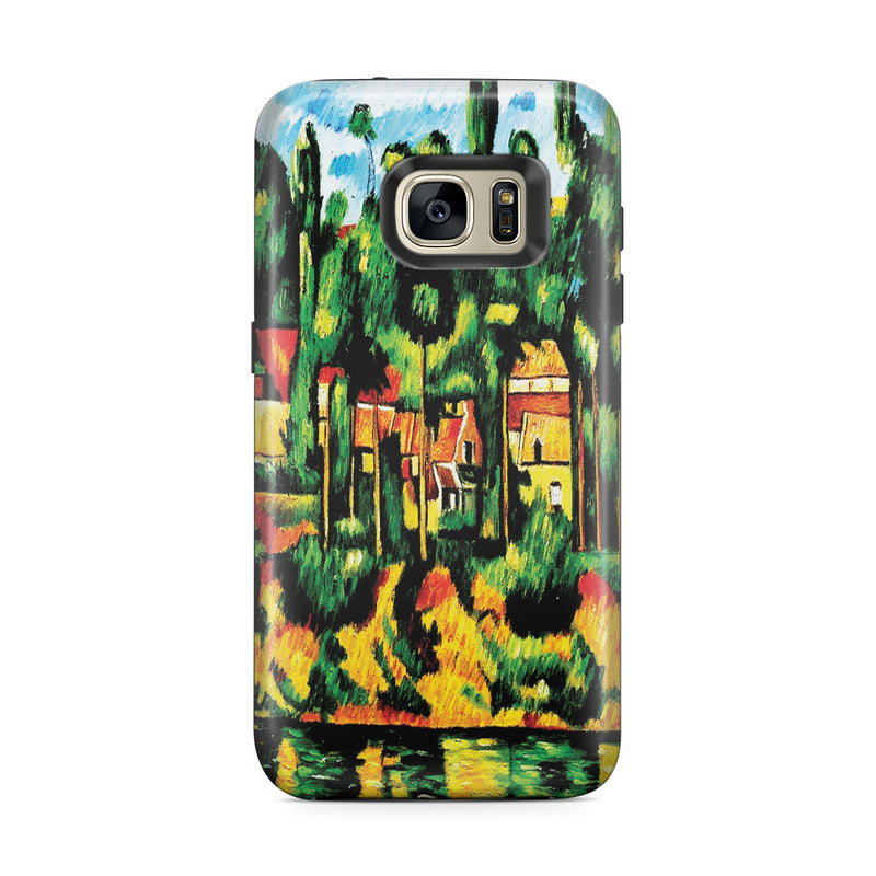 Galaxy S7 Edge Adventure Case - The Chateau at Medan by Paul Cezanne