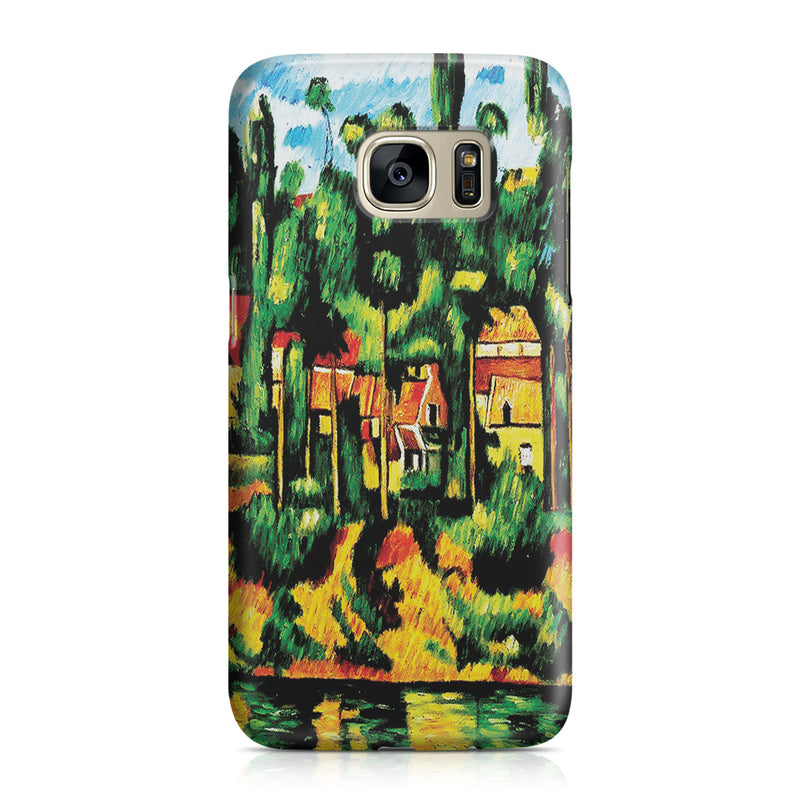 Galaxy S7 Case - The Chateau at Medan by Paul Cezanne