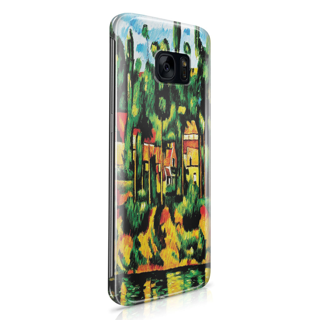 Galaxy S7 Edge Case - The Chateau at Medan by Paul Cezanne