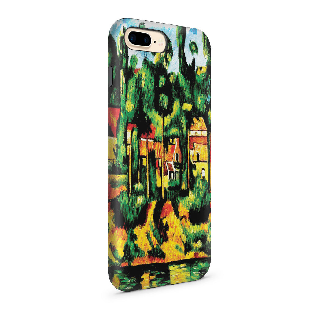 iPhone 7 Plus Adventure Case - The Chateau at Medan by Paul Cezanne