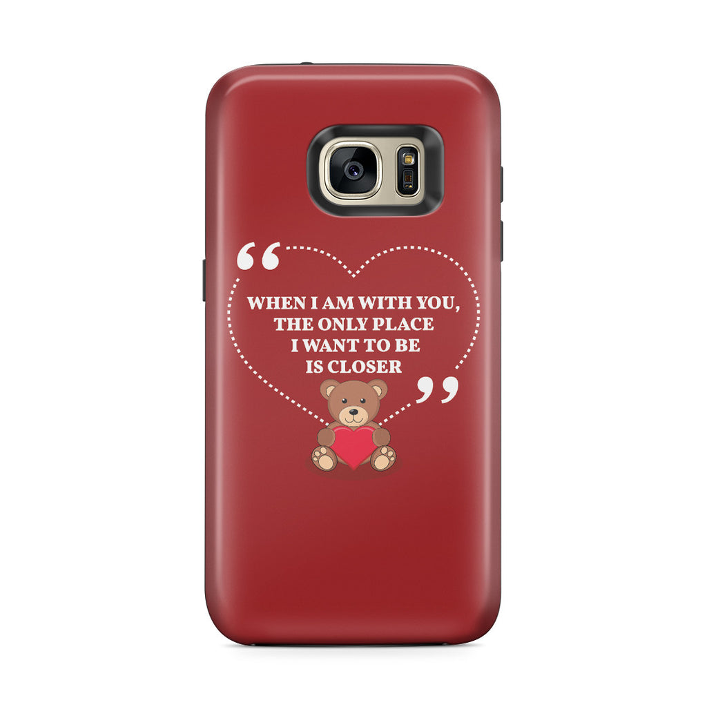 Galaxy S7 Edge Adventure Case - You're My Everything