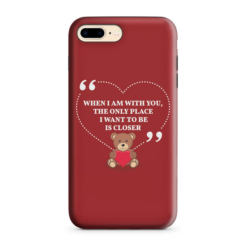 iPhone 8 Plus Adventure Case - You're My Everything