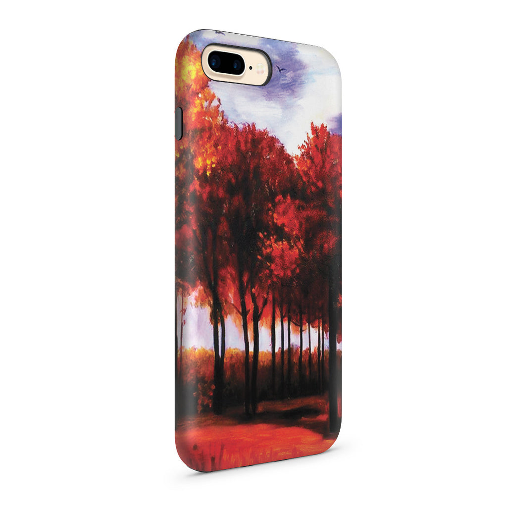 iPhone 7 Plus Adventure Case - Autumn Landscape by Vincent Van Gogh