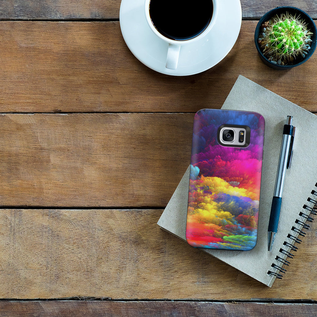 Galaxy S7 Adventure Case - Rainbow Sky