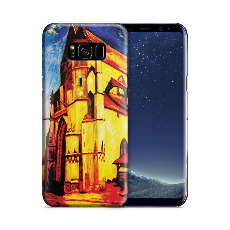 Galaxy S8 Plus Case - The Church at Moret In Morning Sun by Alfred Sisley