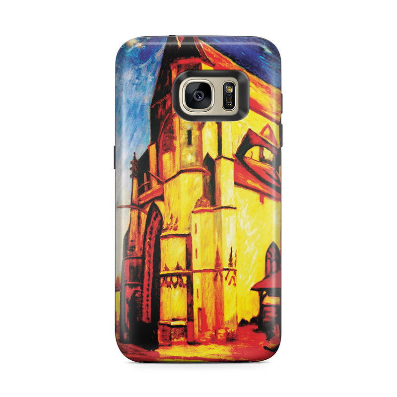 Galaxy S7 Edge Adventure Case - The Church at Moret In Morning Sun by Alfred Sisley