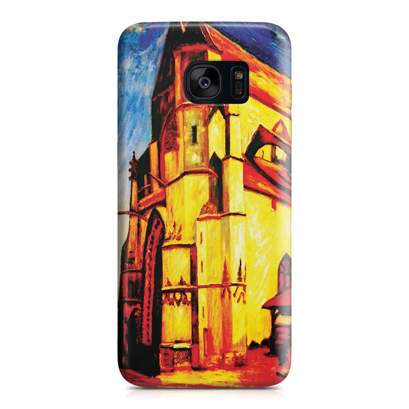 Galaxy S7 Edge Case - The Church at Moret In Morning Sun by Alfred Sisley