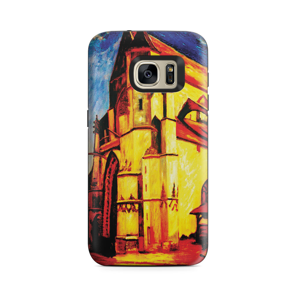 Galaxy S7 Adventure Case - The Church at Moret In Morning Sun by Alfred Sisley