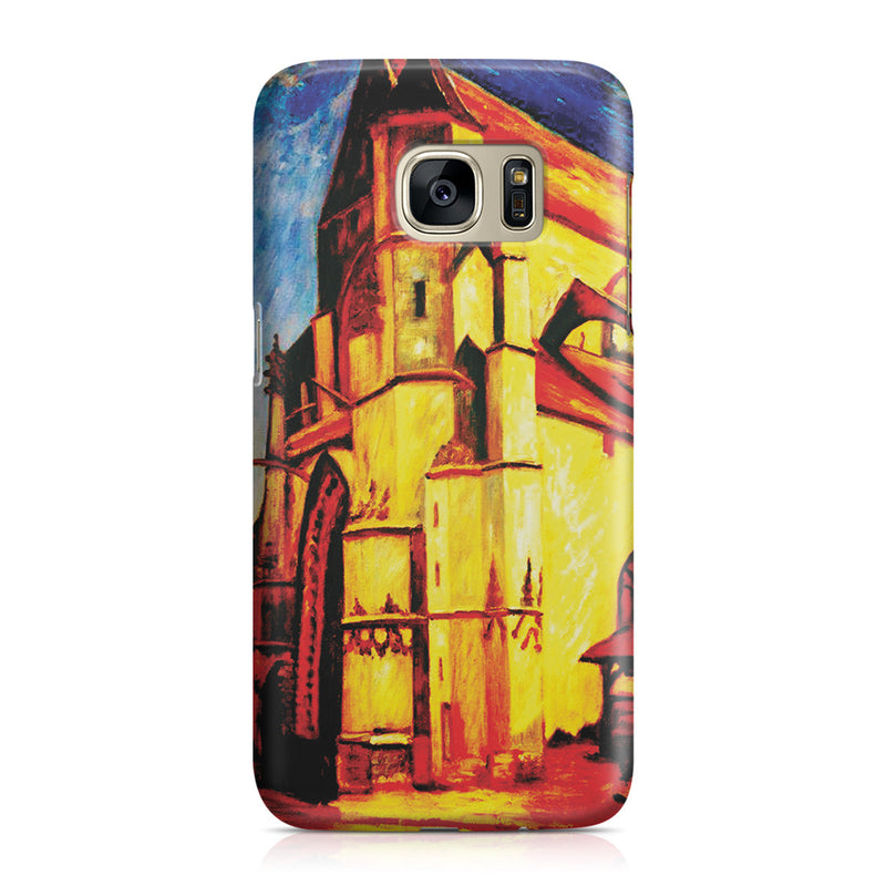 Galaxy S7 Case - The Church at Moret In Morning Sun by Alfred Sisley
