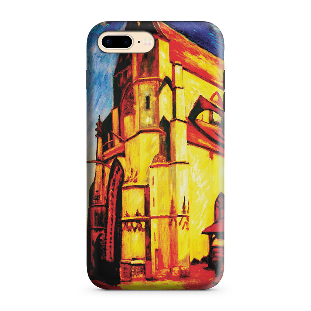 iPhone 7 Plus Adventure Case - The Church at Moret In Morning Sun by Alfred Sisley