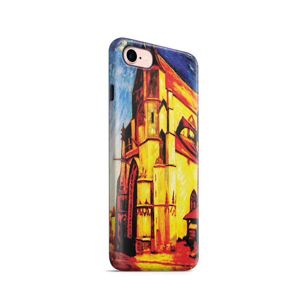 iPhone 7 Adventure Case - The Church at Moret In Morning Sun by Alfred Sisley