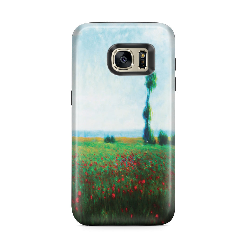 Galaxy S7 Edge Adventure Case - The Fields of Poppies by Claude Monet