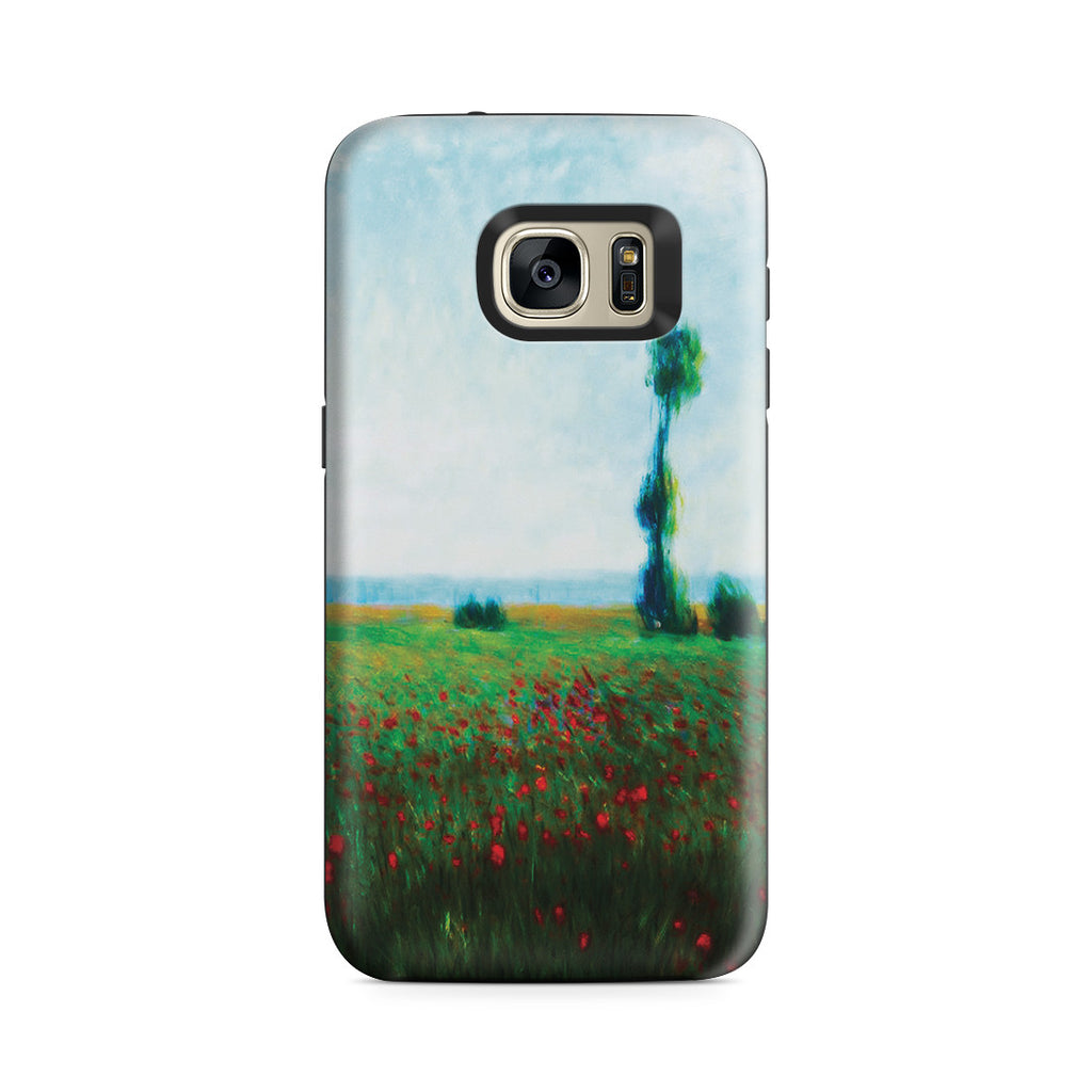 Galaxy S7 Adventure Case - The Fields of Poppies by Claude Monet