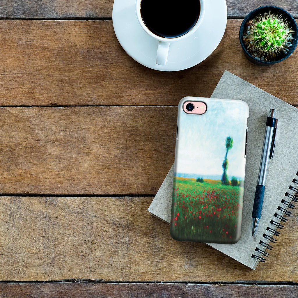 iPhone 7 Adventure Case - The Fields of Poppies by Claude Monet