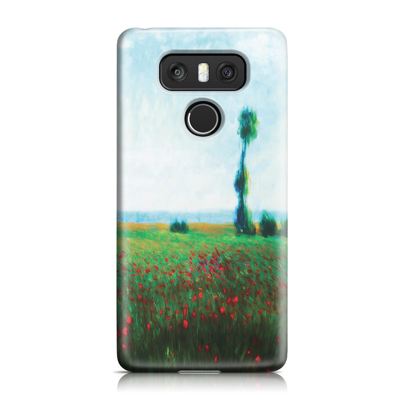 LG G6 Case - The Fields of Poppies by Claude Monet