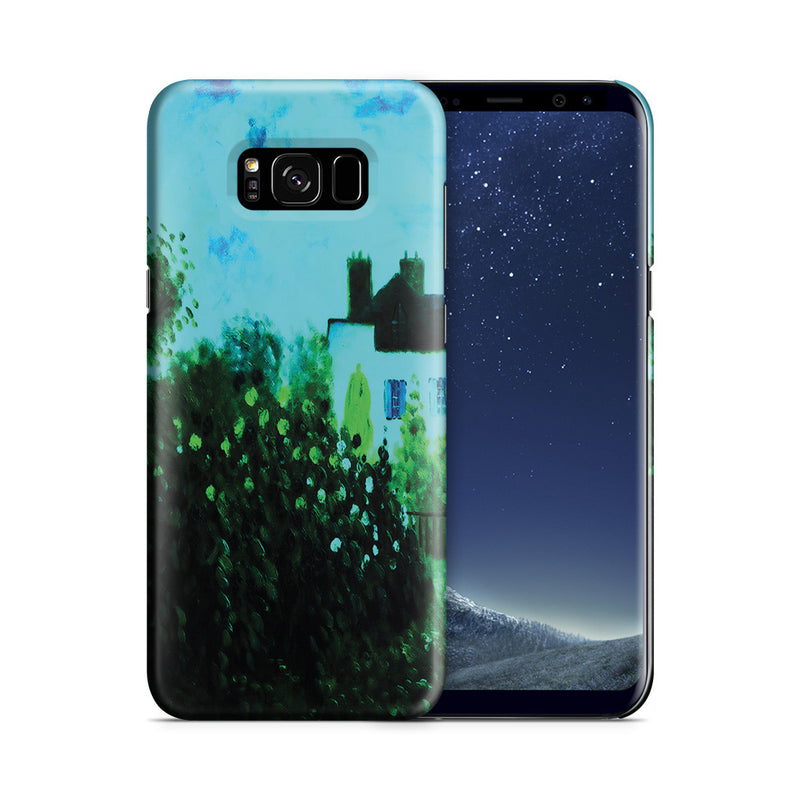 Galaxy S8 Case - The Garden of Monet at Argenteuil, 1873 by Claude Monet