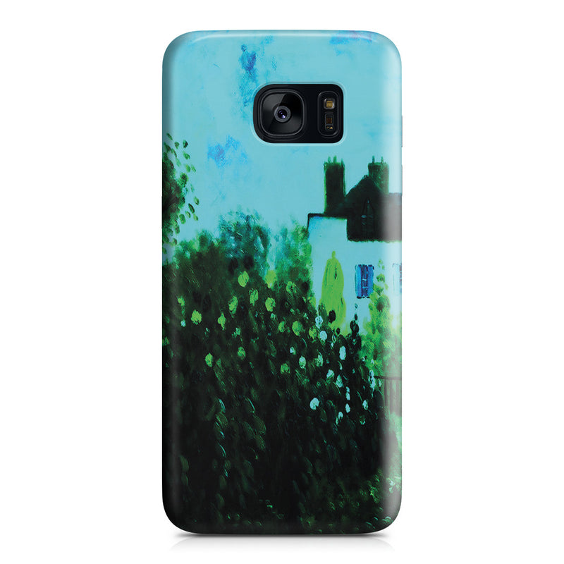 Galaxy S7 Edge Case - The Garden of Monet at Argenteuil, 1873 by Claude Monet