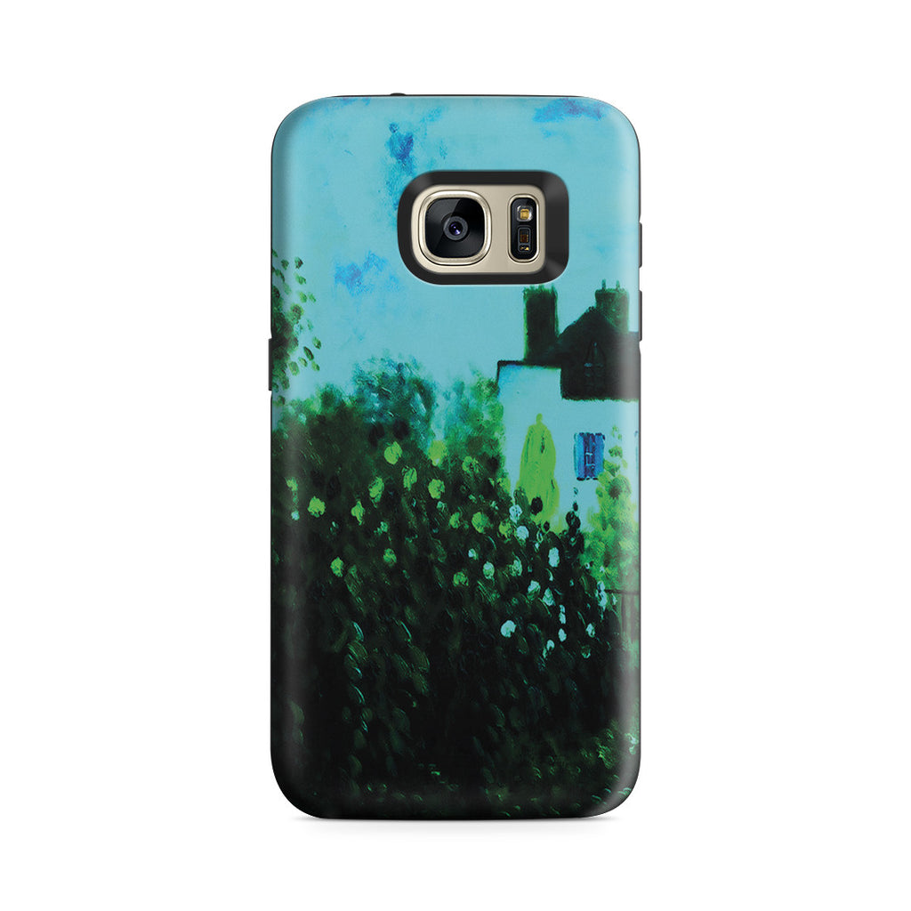 Galaxy S7 Adventure Case - The Garden of Monet at Argenteuil, 1873 by Claude Monet