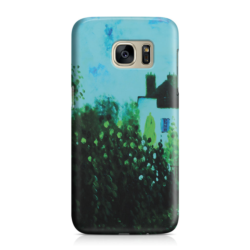 Galaxy S7 Case - The Garden of Monet at Argenteuil, 1873 by Claude Monet