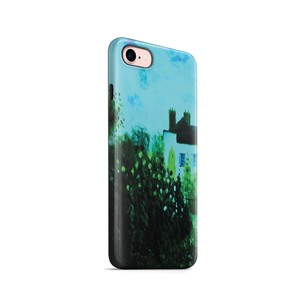 iPhone 7 Adventure Case - The Garden of Monet at Argenteuil, 1873 by Claude Monet