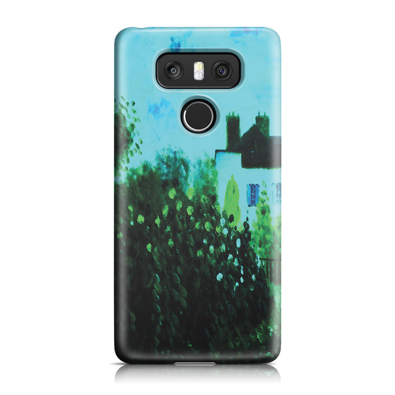 LG G6 Case - The Garden of Monet at Argenteuil, 1873 by Claude Monet