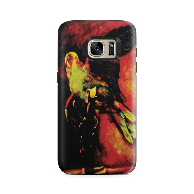 Galaxy S7 Adventure Case - The Green Parrot by Vincent Van Gogh