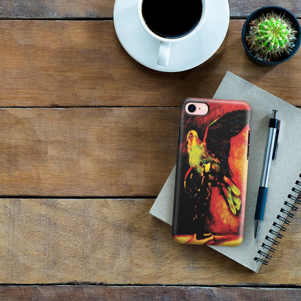 iPhone 7 Adventure Case - The Green Parrot by Vincent Van Gogh