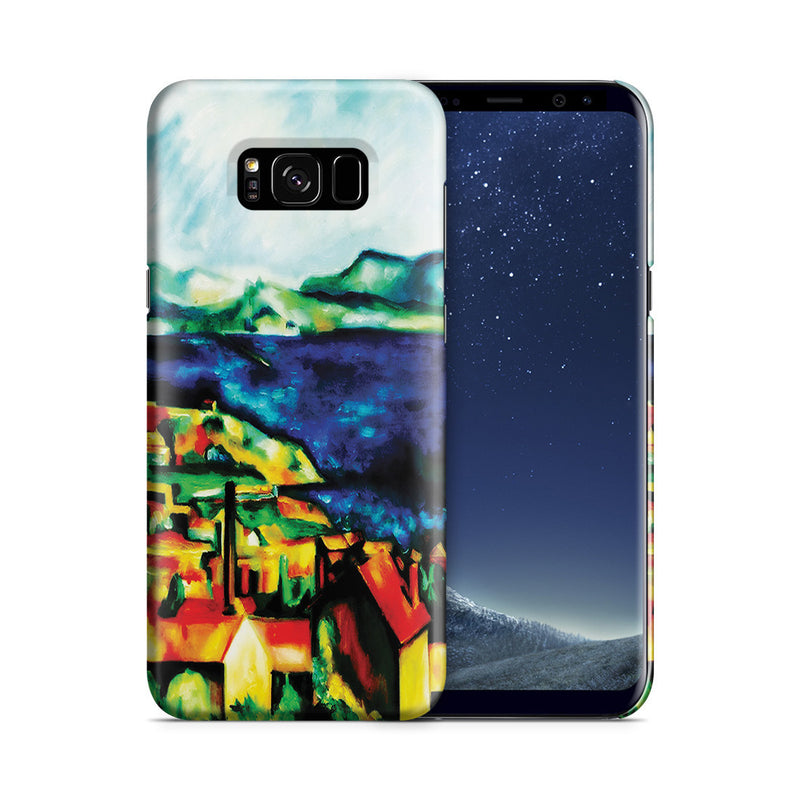 Galaxy S8 Case - The Gulf of Marseilles by Paul Cezanne