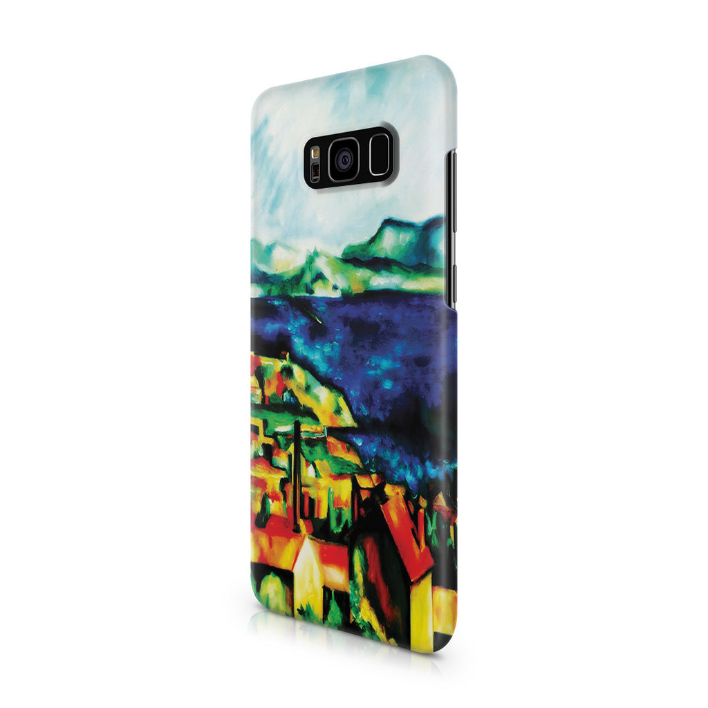 Galaxy S8 Plus Case - The Gulf of Marseilles by Paul Cezanne