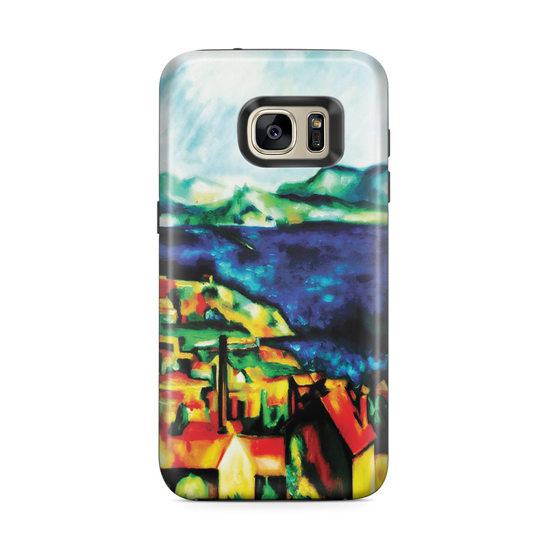 Galaxy S7 Edge Adventure Case - The Gulf of Marseilles by Paul Cezanne