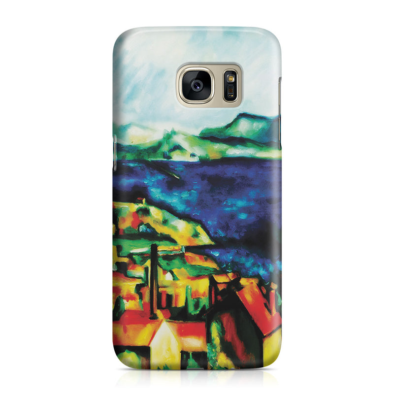 Galaxy S7 Case - The Gulf of Marseilles by Paul Cezanne